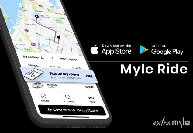 Extra MYLE is helping coordinate all the logistics for the 'Care to Connect NYC' program supporting NYC'